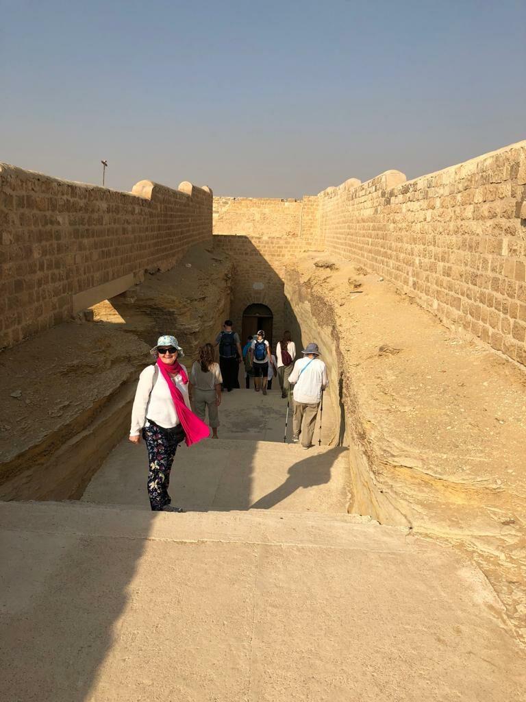 Entrance to Serapeum at Saqqara