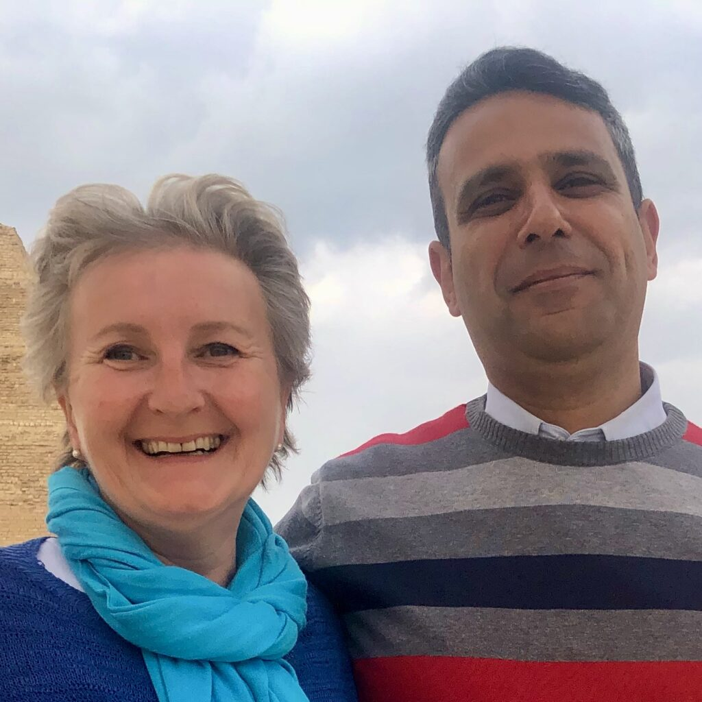 Cristina Teot and Akram Farouk